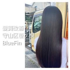 美髪 ロング 縮毛矯正 髪質改善 ヘアスタイルや髪型の写真・画像