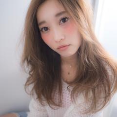モテ髪 ラフ おフェロ ロング ヘアスタイルや髪型の写真・画像