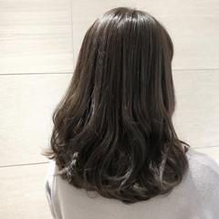 ボブ オフィス ミディアム 大人女子 ヘアスタイルや髪型の写真・画像