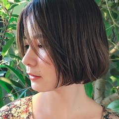 女子力 ヘアアレンジ ナチュラル ボブ ヘアスタイルや髪型の写真・画像