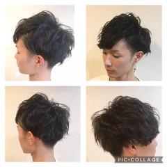 ショート ナチュラル メンズ メンズヘア ヘアスタイルや髪型の写真・画像
