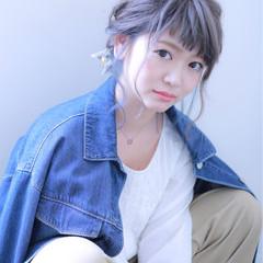 グレーアッシュ 外国人風カラー インナーカラー ダブルカラー ヘアスタイルや髪型の写真・画像