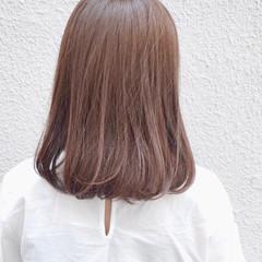 艶髪 ボブ ナチュラル 透明感 ヘアスタイルや髪型の写真・画像