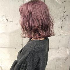 ラフ ゆるふわ ボブ ストリート ヘアスタイルや髪型の写真・画像