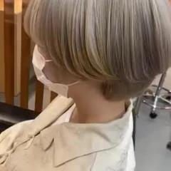 マッシュ ショート マッシュショート モード ヘアスタイルや髪型の写真・画像