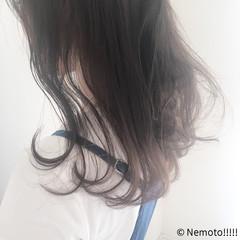 抜け感 ナチュラル ハーフアップ 透明感 ヘアスタイルや髪型の写真・画像