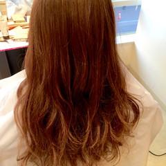 ロング ゆるふわ 愛され フェミニン ヘアスタイルや髪型の写真・画像