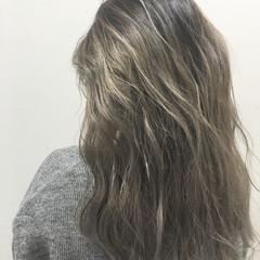 グラデーションカラー ストリート 外国人風 ハイライト ヘアスタイルや髪型の写真・画像