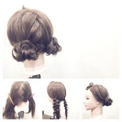 ゆるふわ フェミニン おフェロ セミロング ヘアスタイルや髪型の写真・画像