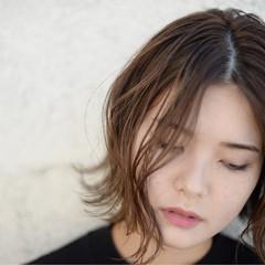 色気 ボブ ストリート ハイライト ヘアスタイルや髪型の写真・画像