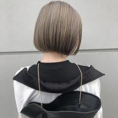 ショートヘア ナチュラル ボブ ミニボブ ヘアスタイルや髪型の写真・画像
