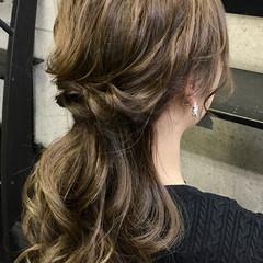 ヘアセット 卒業式 ロング 結婚式 ヘアスタイルや髪型の写真・画像