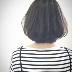 ナチュラル リラックス ボブ ヘアスタイルや髪型の写真・画像