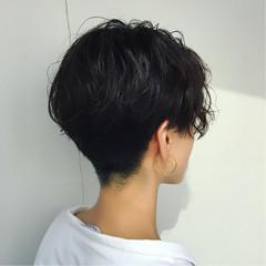 黒髪 ストリート センターパート ゆるふわ ヘアスタイルや髪型の写真・画像