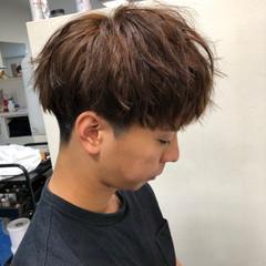 ショート マッシュ メンズパーマ ナチュラル ヘアスタイルや髪型の写真・画像