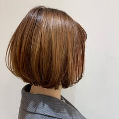 ボブ ミニボブ ボブ パーマ ヘアスタイルや髪型の写真・画像