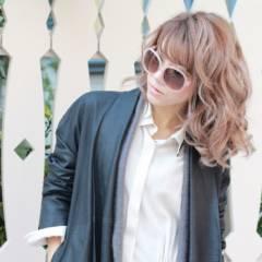 ミディアム ストリート 外国人風 モード ヘアスタイルや髪型の写真・画像