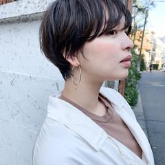 マッシュヘア マッシュ マッシュショート ショート ヘアスタイルや髪型の写真・画像