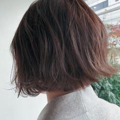 ミニボブ ボブ 伸ばしかけ ナチュラル ヘアスタイルや髪型の写真・画像