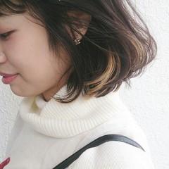 大人かわいい グラデーションカラー 抜け感 インナーカラー ヘアスタイルや髪型の写真・画像