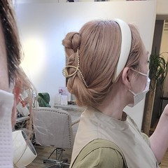 ヘアアレンジ セルフヘアアレンジ ロング セルフアレンジ ヘアスタイルや髪型の写真・画像