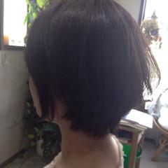 フェミニン ショート 透明感 秋 ヘアスタイルや髪型の写真・画像