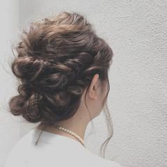 パーティ ルーズ ヘアアレンジ 外国人風 ヘアスタイルや髪型の写真・画像