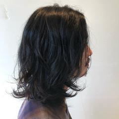 ロング 無造作パーマ くせ毛風 メンズヘア ヘアスタイルや髪型の写真・画像