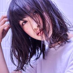 外国人風 ストリート ミディアム 大人かわいい ヘアスタイルや髪型の写真・画像