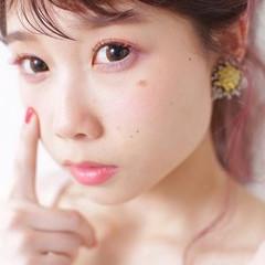 ミディアム 簡単ヘアアレンジ 外国人風 ゆるふわ ヘアスタイルや髪型の写真・画像