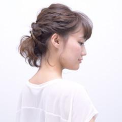 大人女子 ボブアレンジ ナチュラル可愛い ボブ ヘアスタイルや髪型の写真・画像