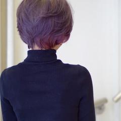 ショート 色気 暗髪 ボブ ヘアスタイルや髪型の写真・画像