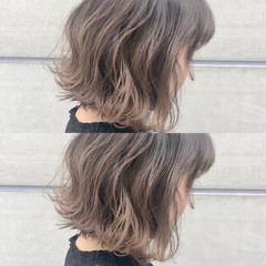 ボブ グラデーションカラー ナチュラル 外国人風カラー ヘアスタイルや髪型の写真・画像