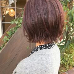 ラベンダーアッシュ デート ラベンダーグレージュ ガーリー ヘアスタイルや髪型の写真・画像