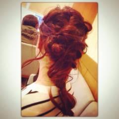 愛され ヘアアレンジ コンサバ 簡単ヘアアレンジ ヘアスタイルや髪型の写真・画像