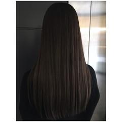 アッシュグレー ナチュラルグラデーション くすみカラー アッシュグレージュ ヘアスタイルや髪型の写真・画像