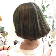 マット グレージュ ストリート ベージュ ヘアスタイルや髪型の写真・画像