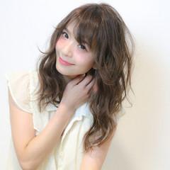 ピュア 艶髪 ナチュラル ガーリー ヘアスタイルや髪型の写真・画像