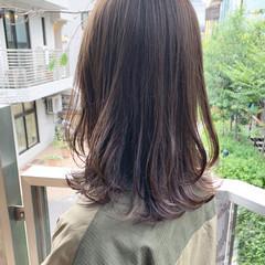 前髪あり こなれ感 レイヤーカット ナチュラル ヘアスタイルや髪型の写真・画像