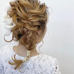 ナチュラル 透明感カラー ミディアム 簡単ヘアアレンジ ヘアスタイルや髪型の写真・画像