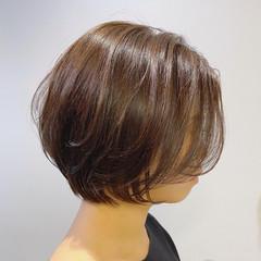 ショートボブ ショートヘア ミニボブ コンパクトショート ヘアスタイルや髪型の写真・画像
