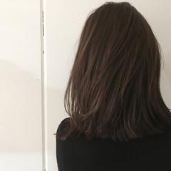 抜け感 アッシュ ナチュラル グレージュ ヘアスタイルや髪型の写真・画像