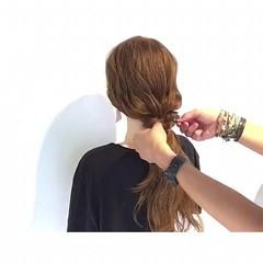 女子会 梅雨 ヘアアレンジ 簡単ヘアアレンジ ヘアスタイルや髪型の写真・画像