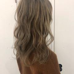 ガーリー ベージュ ヌーディベージュ ミルクティーベージュ ヘアスタイルや髪型の写真・画像