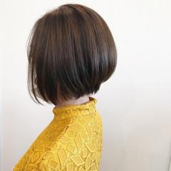 大人女子 前下がりボブ 大人グラボブ エレガント ヘアスタイルや髪型の写真・画像