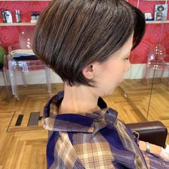 ショートヘア 大人ショート 大人可愛い ショート ヘアスタイルや髪型の写真・画像