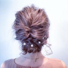 フェミニン ミディアム 大人かわいい ゆるふわ ヘアスタイルや髪型の写真・画像