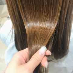 髪質改善トリートメント ツヤ髪 髪質改善 ツヤツヤ ヘアスタイルや髪型の写真・画像