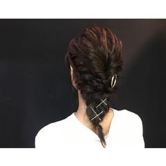 ヘアアレンジ ボブ フェミニン ディズニー ヘアスタイルや髪型の写真・画像