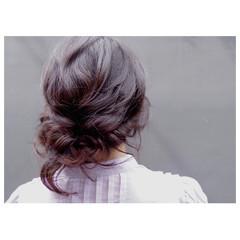 ヘアアレンジ ルーズ アップスタイル 簡単ヘアアレンジ ヘアスタイルや髪型の写真・画像